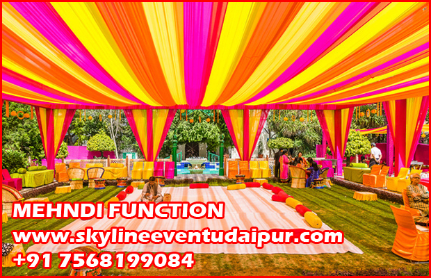 Mehndi Function Wedding Management Sound Rajasthani Carnival Folk